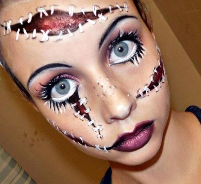 15 machiaje spectaculoase de Halloween - Poza 7