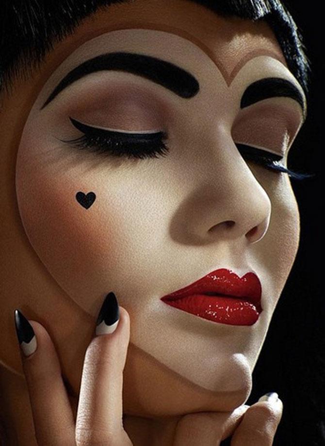 15 machiaje spectaculoase de Halloween - Poza 8