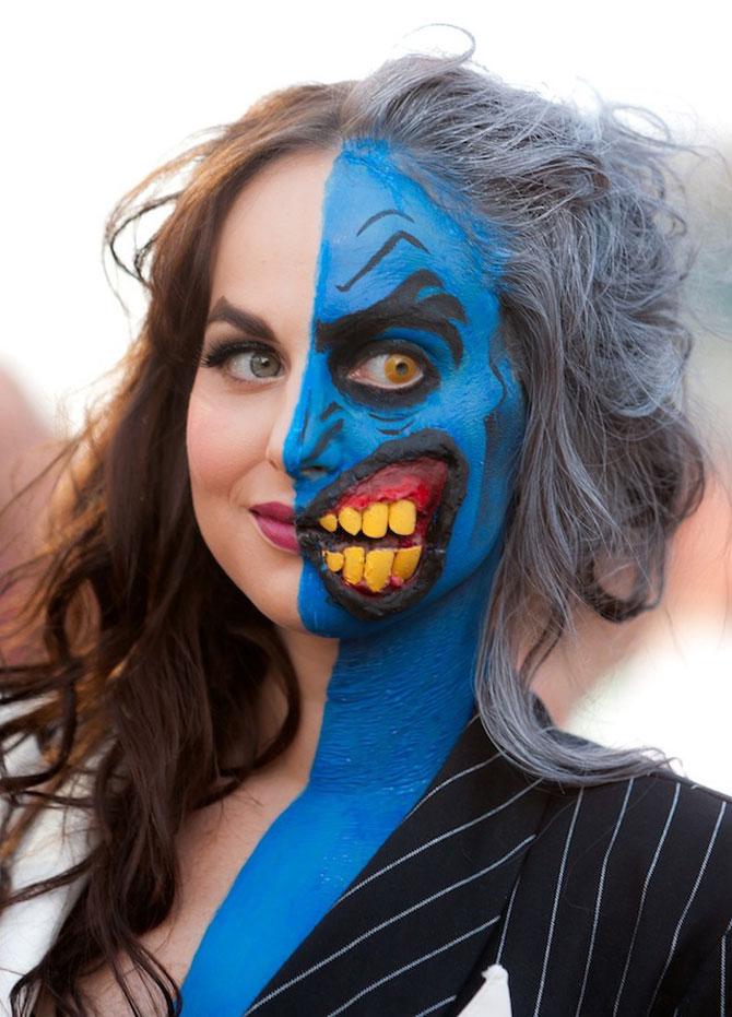 15 machiaje spectaculoase de Halloween - Poza 10