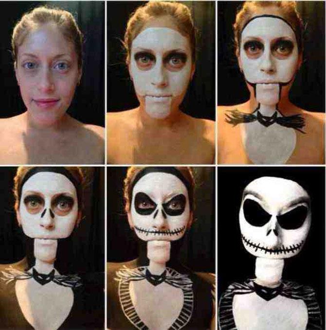 15 machiaje spectaculoase de Halloween - Poza 12