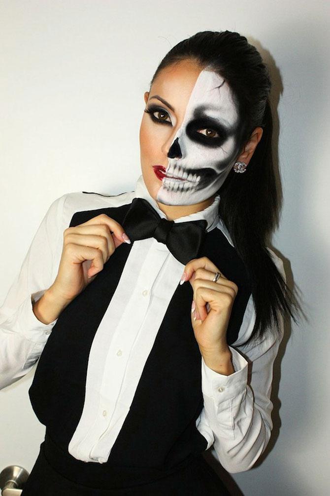 15 machiaje spectaculoase de Halloween - Poza 13