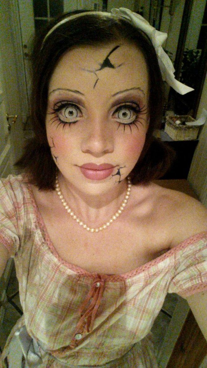 15 machiaje spectaculoase de Halloween - Poza 14