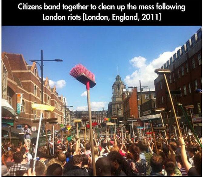 11 momente incredibile de la protestele din intreaga lume - Poza 6