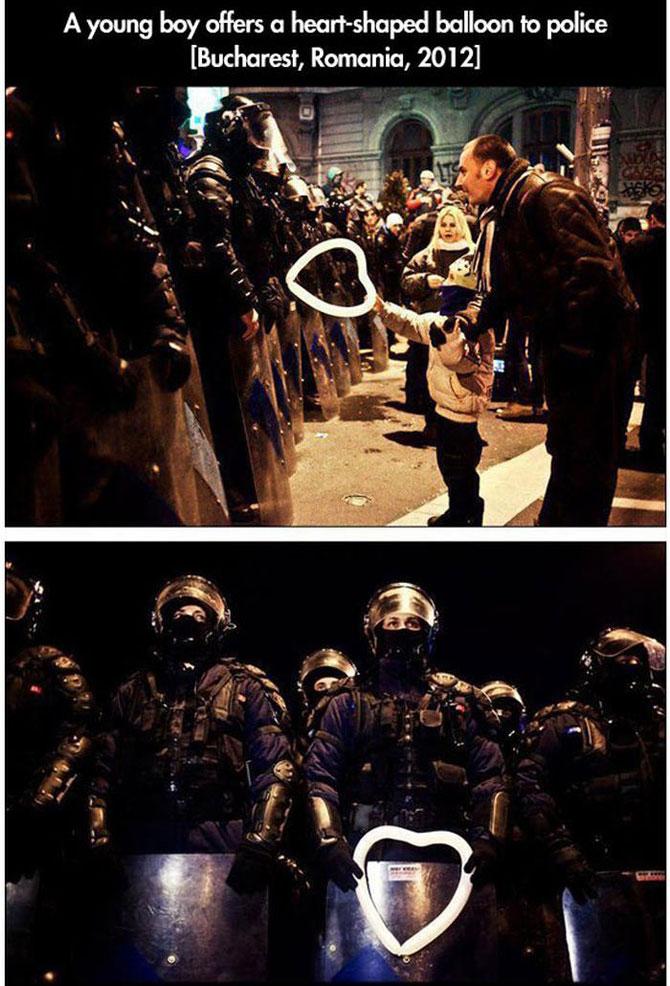 11 momente incredibile de la protestele din intreaga lume - Poza 8