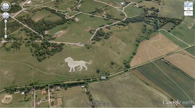 15 surprize gasite pe Google Earth - Poza 13