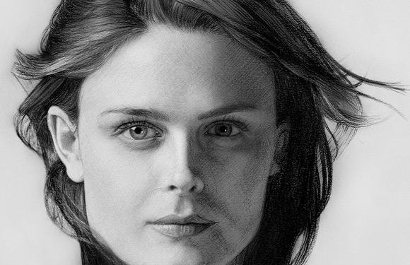 Celebritati: 40 de portrete excelente in creion - Poza 16