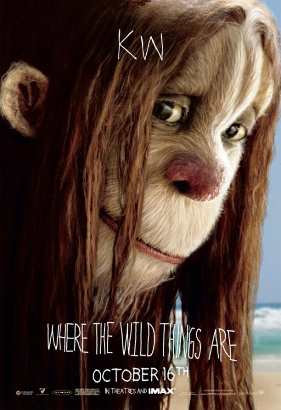 Postere Where the Wild Things Are