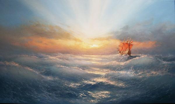 35 de picturi: Marea si corabiile - Poza 16