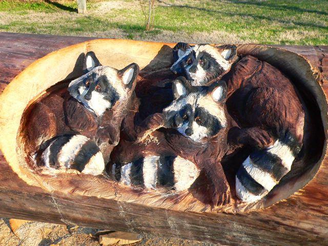 Sculptura in lemn de Randall D.Boni - Poza 4