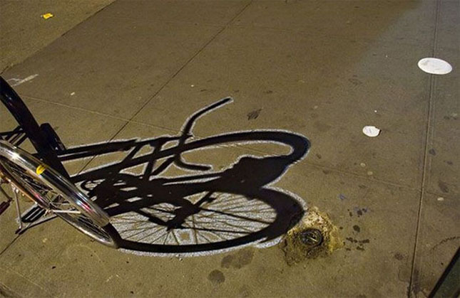 Opere stradale bazate pe umbre - Poza 2