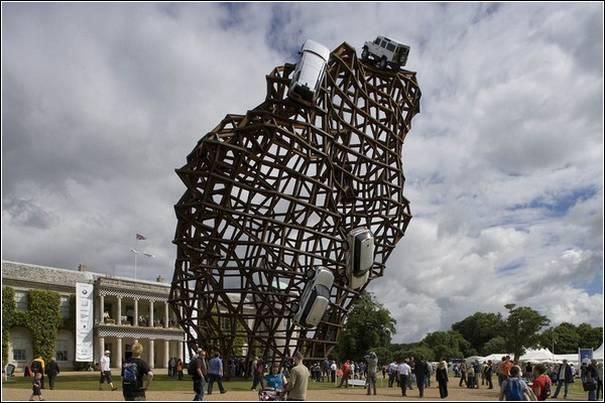 Sculpturi cu masini de Gerry Judah - Poza 7