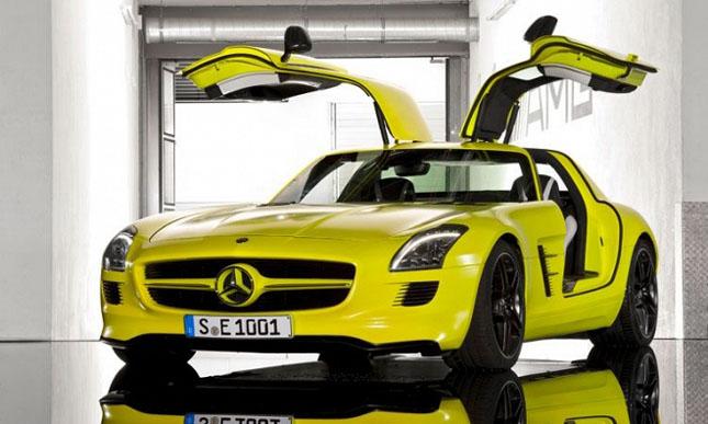 Prototipul Mercedes-Benz SLS AMG E-Cell - Poza 3