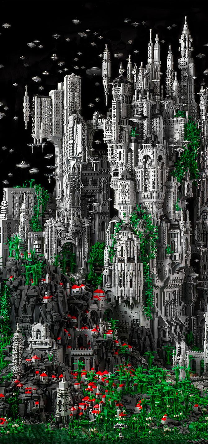 200.000 de piese LEGO pentru un castel SF - Poza 2