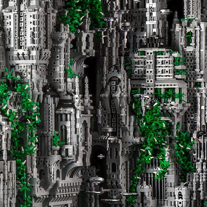 200.000 de piese LEGO pentru un castel SF - Poza 3
