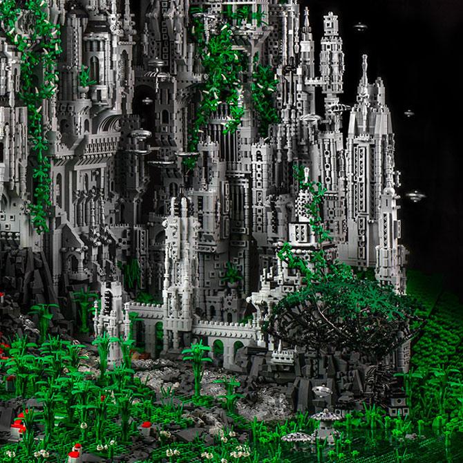 200.000 de piese LEGO pentru un castel SF - Poza 4