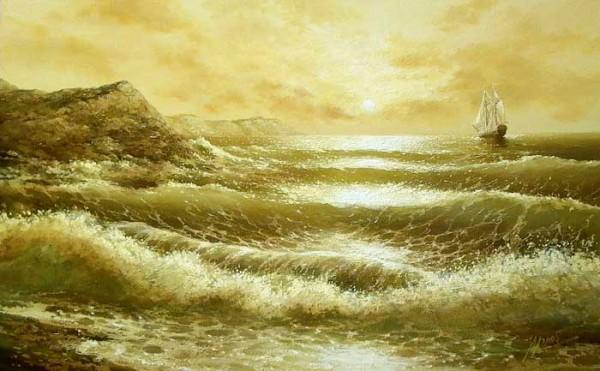 35 de picturi: Marea si corabiile - Poza 20