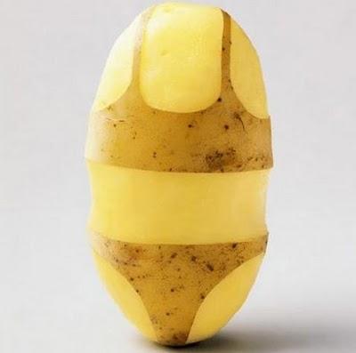 Sculptura in... cartofi! - Poza 21