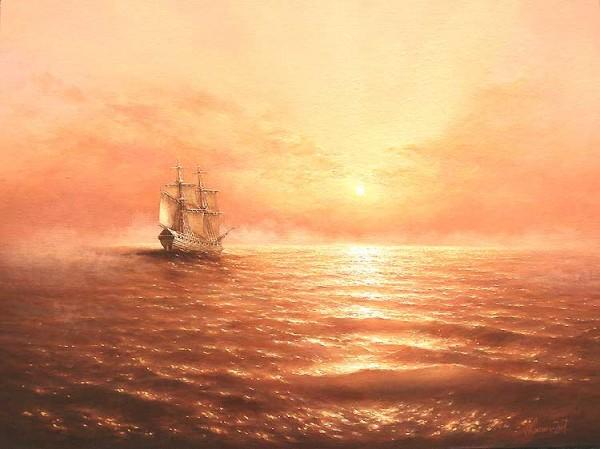 35 de picturi: Marea si corabiile - Poza 21