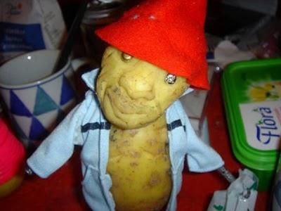 Sculptura in... cartofi! - Poza 22