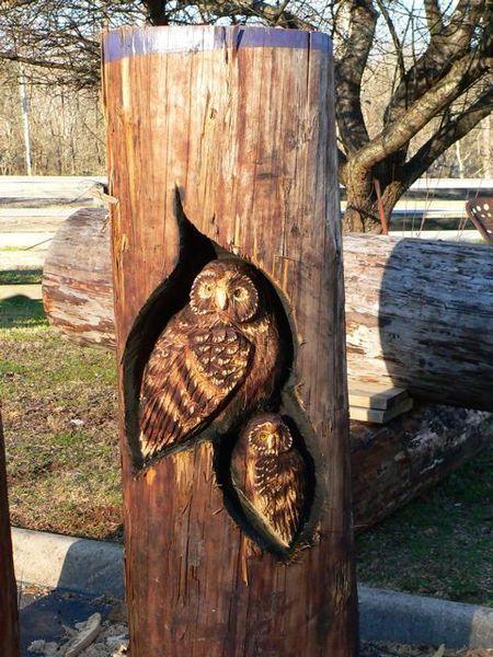 Sculptura in lemn de Randall D.Boni - Poza 5