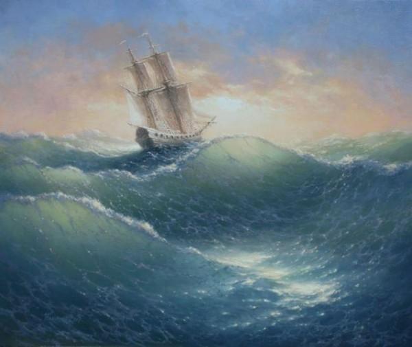 35 de picturi: Marea si corabiile - Poza 22
