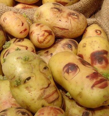 Sculptura in... cartofi! - Poza 23