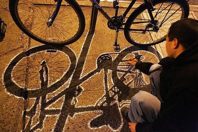 Opere stradale bazate pe umbre - Poza 3
