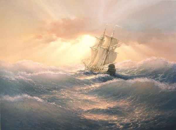 35 de picturi: Marea si corabiile - Poza 24