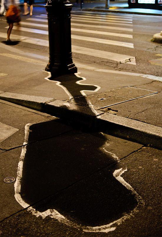Opere stradale bazate pe umbre - Poza 5