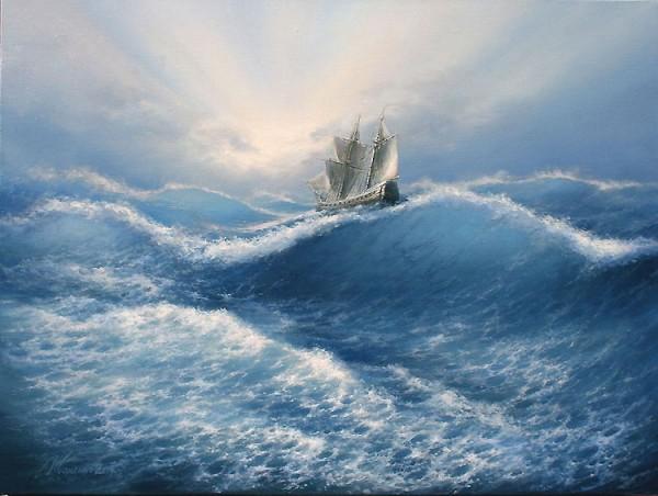 35 de picturi: Marea si corabiile - Poza 25
