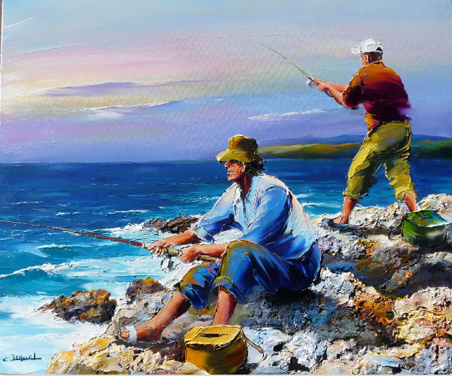 19 picturi: Christian Jequel
