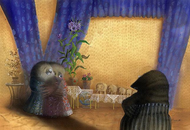 70 de desene de poveste: Yulia Gukovo - Poza 3