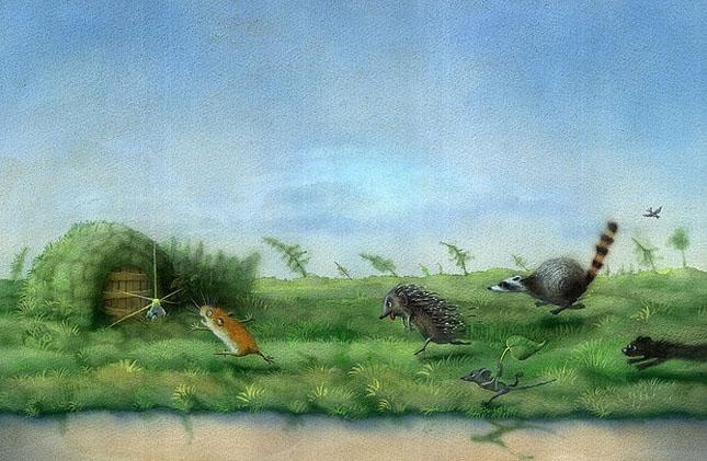70 de desene de poveste: Yulia Gukovo - Poza 16