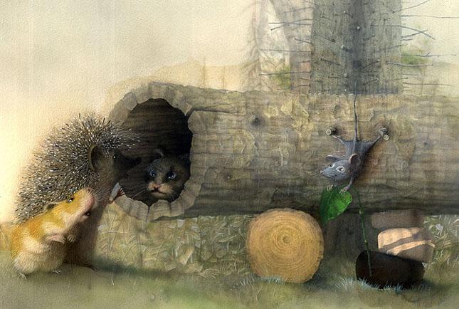 70 de desene de poveste: Yulia Gukovo - Poza 17