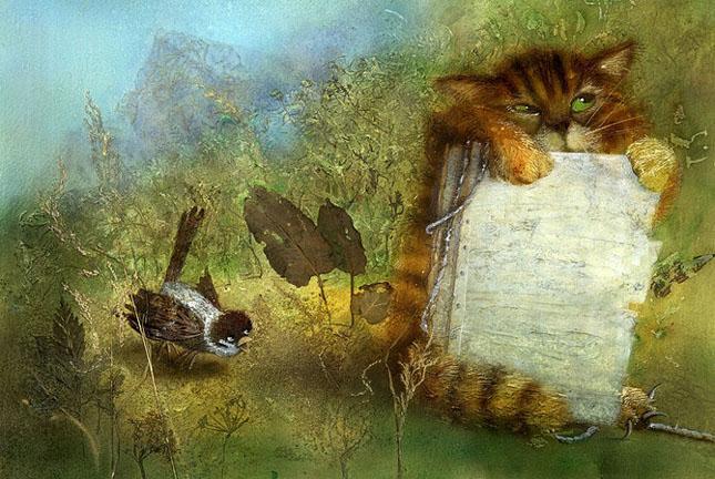 70 de desene de poveste: Yulia Gukovo - Poza 26