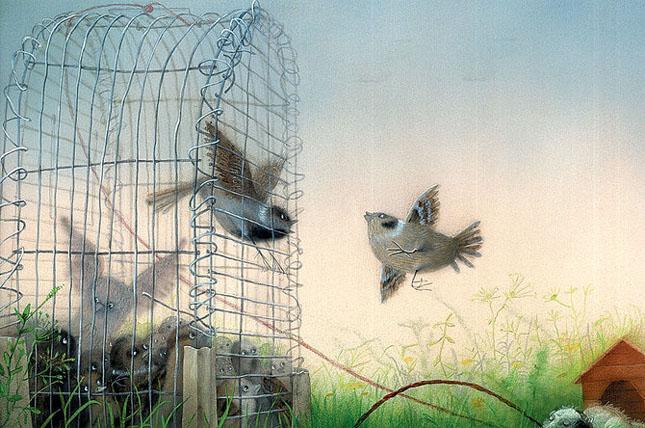 70 de desene de poveste: Yulia Gukovo - Poza 27