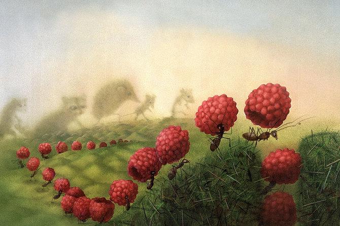 70 de desene de poveste: Yulia Gukovo - Poza 28