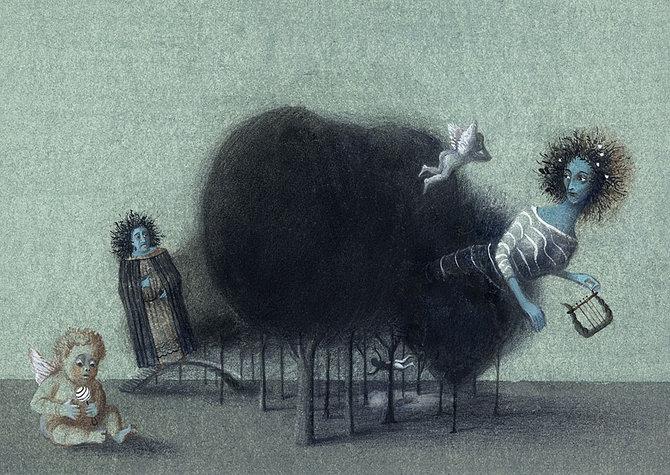 70 de desene de poveste: Yulia Gukovo - Poza 31