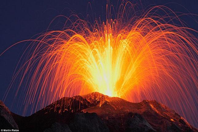 55 de poze cu un fenomen fascinant: eruptia vulcanica - Poza 31
