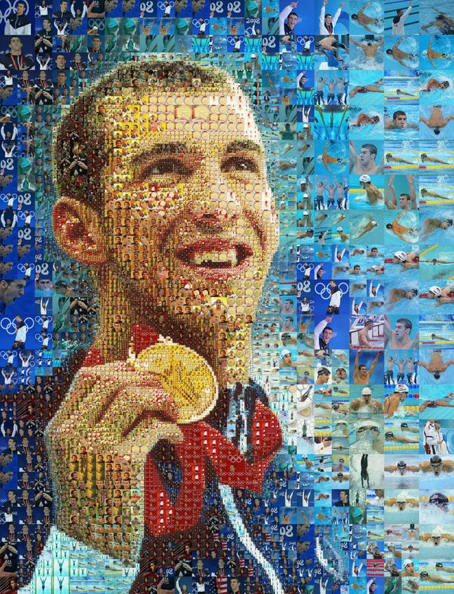 Portrete uimitoare in mozaic - Poza 15