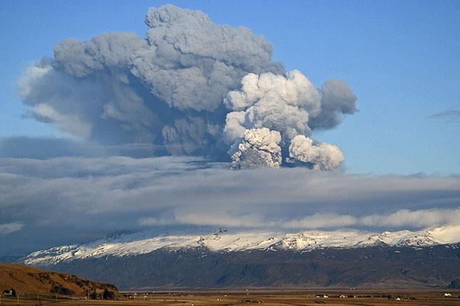 Fata nevazuta a eruptiei vulcanice din Islanda - Poza 5