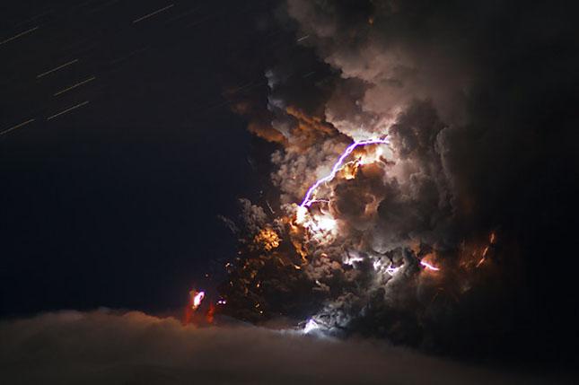 Fata nevazuta a eruptiei vulcanice din Islanda - Poza 13