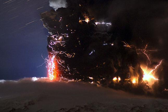 Fata nevazuta a eruptiei vulcanice din Islanda - Poza 14