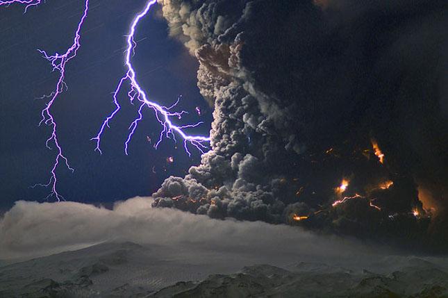 Fata nevazuta a eruptiei vulcanice din Islanda - Poza 11