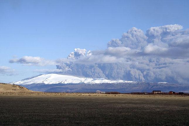 Fata nevazuta a eruptiei vulcanice din Islanda - Poza 6