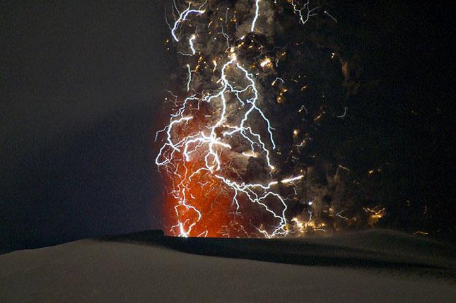 Fata nevazuta a eruptiei vulcanice din Islanda - Poza 15