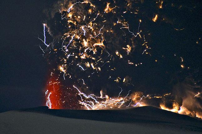 Fata nevazuta a eruptiei vulcanice din Islanda - Poza 16