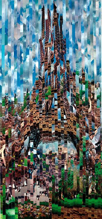 Colaje impresionante de Serge Mendjisky - Poza 3
