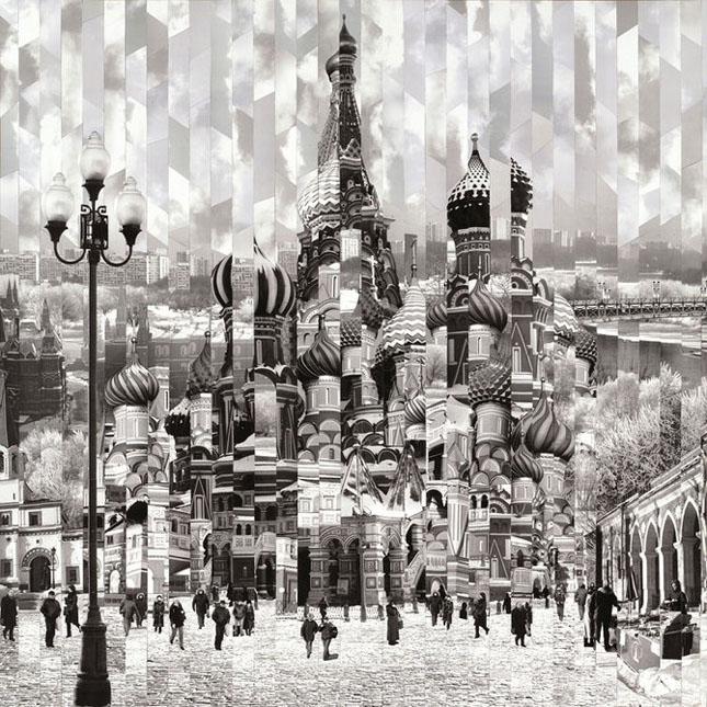 Colaje impresionante de Serge Mendjisky - Poza 31