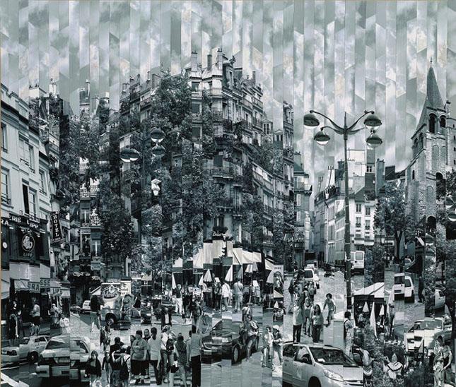 Colaje impresionante de Serge Mendjisky